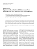 "Báo cáo hóa học: ""  Research Article Separation and Localisation of P300 Sources and Their Subcomponents Using Constrained Blind Source Separation"""