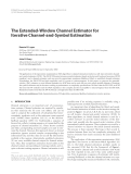 "Báo cáo hóa học: "" The Extended-Window Channel Estimator for Iterative Channel-and-Symbol Estimation"""