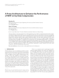 """Báo cáo hóa học: """" A Proxy Architecture to Enhance the Performance of WAP 2.0 by Data Compression"""""""