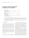 """Báo cáo hóa học: """" Estimation of Directions of Arrival by Matching Pursuit (EDAMP)"""""""