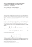 ROTHE TIME-DISCRETIZATION METHOD APPLIED TO A QUASILINEAR WAVE EQUATION SUBJECT TO INTEGRAL
