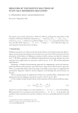 BEHAVIOR OF THE POSITIVE SOLUTIONS OF FUZZY MAX-DIFFERENCE EQUATIONS G. STEFANIDOU AND G.