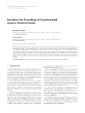 """Báo cáo hóa học: """" Iterative List Decoding of Concatenated Source-Channel Codes"""""""
