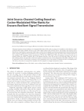 """Báo cáo hóa học: """" Joint Source-Channel Coding Based on Cosine-Modulated Filter Banks for Erasure-Resilient Signal Transmission Slavica Marinkovic"""""""