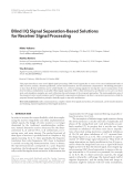 """Báo cáo hóa học: """" Blind I/Q Signal Separation-Based Solutions for Receiver Signal Processing"""""""
