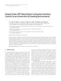 "Báo cáo hóa học: "" Steady-State VEP-Based Brain-Computer Interface Control in an Immersive 3D Gaming Environment"""