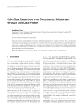"Báo cáo hóa học: ""  Color Seal Extraction from Documents: Robustness through Soft Data Fusion"""