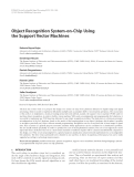 """Báo cáo hóa học: """"Object Recognition System-on-Chip Using the Support Vector Machines"""""""