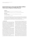 "Báo cáo hóa học: ""System Performance of Concatenated STBC and Block Turbo Codes in Dispersive Fading Channels"""