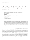 "Báo cáo hóa học: "" A Methodology for Rapid Prototyping Peak-Constrained Least-Squares Bit-Serial Finite Impulse Response Filters in FPGAs"""