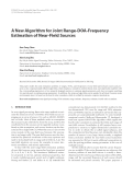 """Báo cáo hóa học: """" A New Algorithm for Joint Range-DOA-Frequency Estimation of Near-Field Sources"""""""