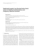 """Báo cáo hóa học: """" Optimized Irregular Low-Density Parity-Check Codes for Multicarrier Modulations over Frequency-Selective Channels"""""""