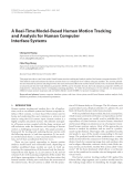 "Báo cáo hóa học: ""  A Real-Time Model-Based Human Motion Tracking and Analysis for Human Computer Interface Systems"""