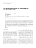 "Báo cáo hóa học: "" Fine-Grained Rate Shaping for Video Streaming over Wireless Networks"""