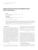 "Báo cáo hóa học: "" Hybrid 3D Fractal Coding with Neighbourhood Vector Quantisation"""