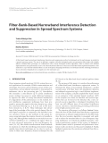 "Báo cáo hóa học: "" Filter-Bank-Based Narrowband Interference Detection and Suppression in Spread Spectrum Systems"""