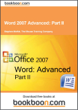 Word 2007 Advanced