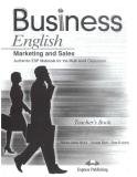 English for marketing and sales