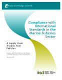 Compliance with International Standards in the Marine Fisheries Sector
