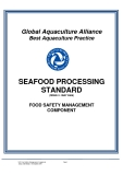 SEAFOOD PROCESSING STANDARD