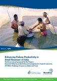 Enhancing Fishery Productivity in Small Reservoir in India