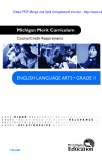 ENGLISH LANGUAGE ARTS • GRAdE II