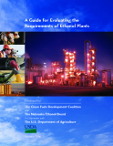 A Guide for Evaluating the Requirements of Ethanol Plants