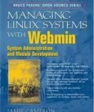 Managing Linux Systems with Webmin