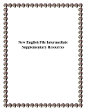 New English File Intermediate Supplementary Resources