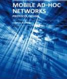 MOBILE AD HOC NETWORKS: PROTOCOL DESIGN