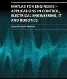MATLAB FOR ENGINEERS – APPLICATIONS IN CONTROL, ELECTRICAL ENGINEERING, IT AND ROBOTICS
