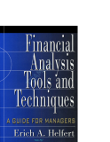 Financial Analysis Tool and Techniques