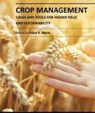 CROP MANAGEMENT – CASES AND TOOLS FOR HIGHER YIELD AND SUSTAINABILITY