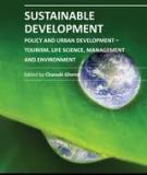 SUSTAINABLE DEVELOPMENT – POLICY AND URBAN DEVELOPMENT – TOURISM, LIFE SCIENCE, MANAGEMENT AND ENVIRONMENT