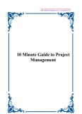Sách 10 Minute Guide to Project Management