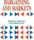 Bargaining and Markets - Martin J. Osborne
