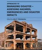 APPROACHES TO MANAGING DISASTER – ASSESSING HAZARDS, EMERGENCIES AND DISASTER IMPACTS