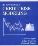 AN INTRODUCTION TO CREDIT RISK MODELING