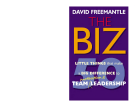 THE BIZ 50 little things that make a big difference to team motivation and leadership