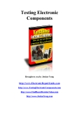 Testing electronic component: how you can test electronic components like a professional