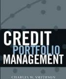 Credit Portfolio Management