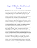 Chapter 030. Disorders of Smell, Taste, and Hearing