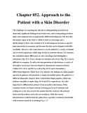 Chapter 052. Approach to the Patient with a Skin Disorder