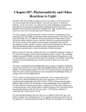 Chapter 057. Photosensitivity and Other Reactions to Light