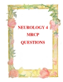 NEUROLOGY 4 MRCP QUESTIONS