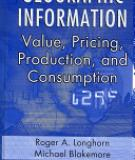 GEOGRAPHIC INFORMATION Value, Pricing, Production, and Consumption