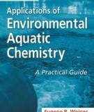 Applications of Environmental Aquatic Chemistry