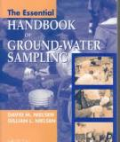 The Essential OF HANDBOOK GROUND-WATER SAMPLING