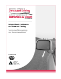 International Conference on Distracted Driving