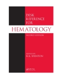 Desk Reference for hematology (second edition)